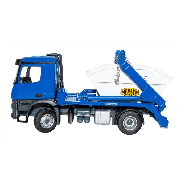 Modell MEILLER Absetzkipper blau